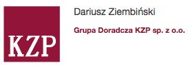 Dariusz Ziembiński - Grupa Doradcza KZP sp. zo.o.